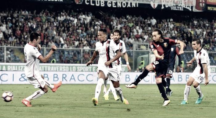 Serie A - Il Genoa vola a Cagliari, fra bel gioco e salvezza