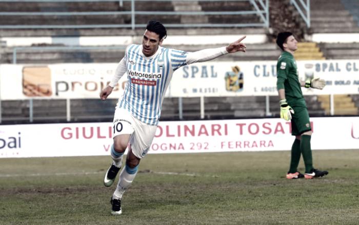 Benevento-Spal 1-2: vittoria in rimonta nel segno di Floccari