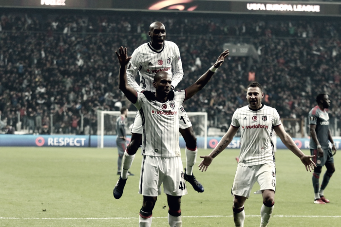 Europa League - Il Besiktas distrugge l'Olympiacos e passa ai quarti (4-1)