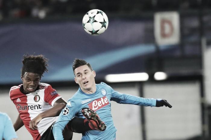Champions League - Napoli, il miracolo non riesce, sconfitta col Feyenoord e brutte notizie da Donetsk (2-1)