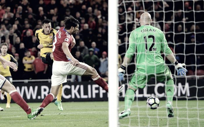 Premier League - Arsenal a fatica su un Middlesbrough mai domo (1-2)