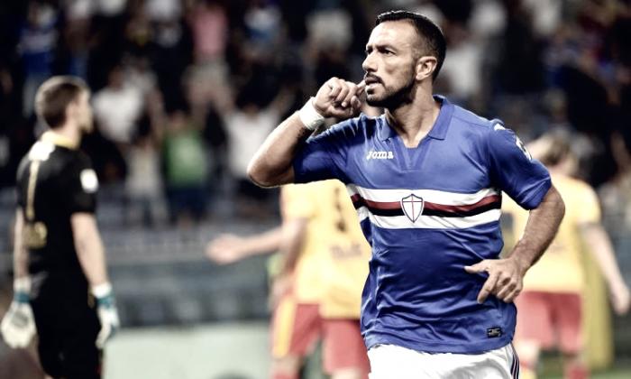 Serie A - L'uragano Sampdoria si abbatte sull'inerme Crotone (5-0)