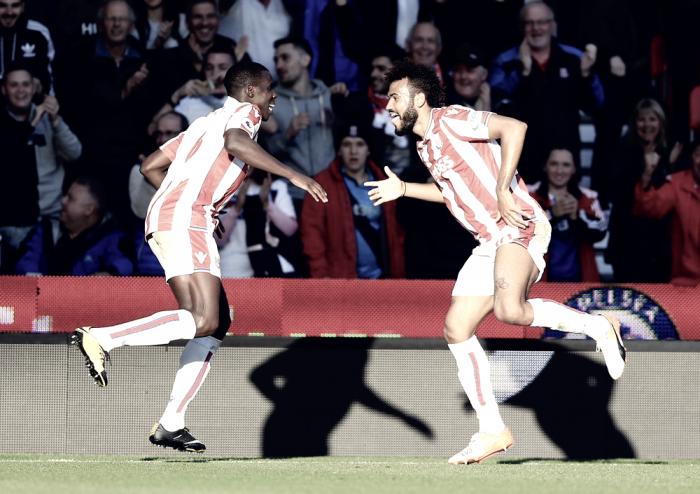 Premier League - Doppia razione di Choupo-Moting e lo United prende un solo punto a Stoke-on-Trent
