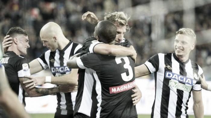 Serie A - L'Udinese risorge e abbatte la Sampdoria (4-0)
