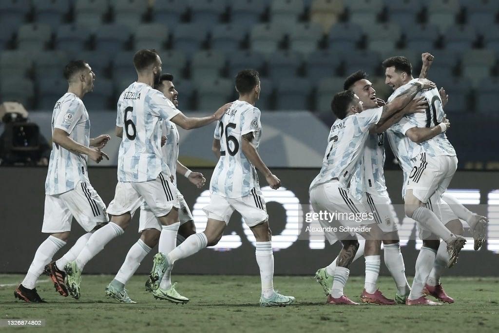 Argentina a la semifinal