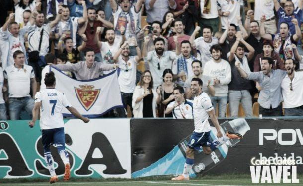Borja Bastón catapulta a un Real Zaragoza intratable