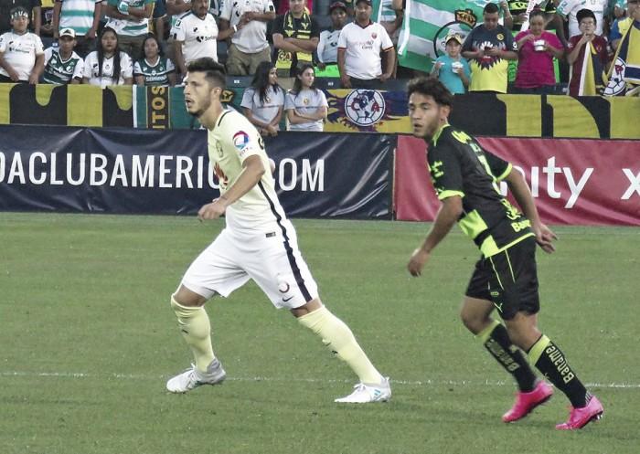 América se impuso a Santos en duelo de preparación