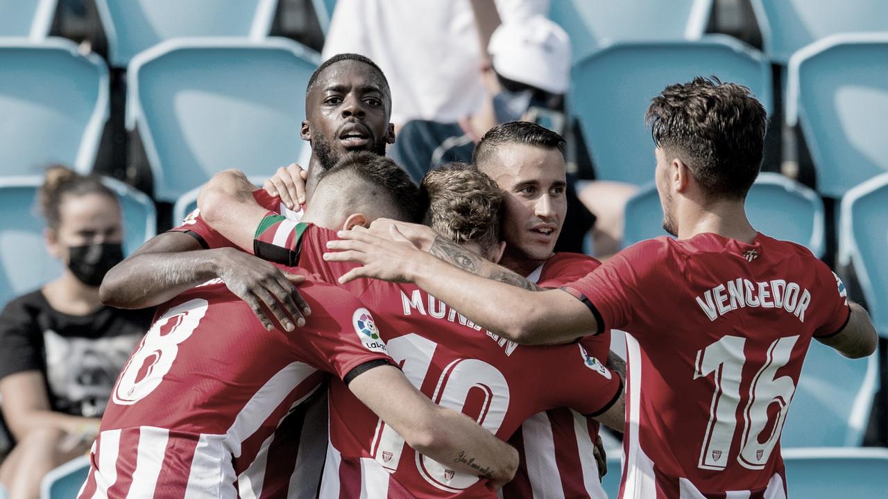 Athletic Bilbao conquista primeira vitória de LaLiga sobre Celta