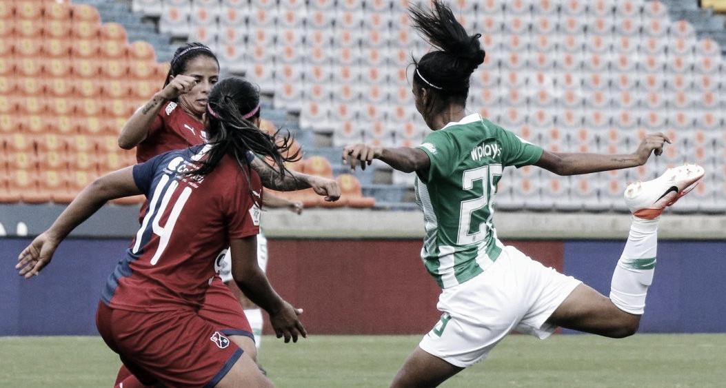 Medellín ganó y se clasificó a la siguiente fase de la Liga Aguila Femenina