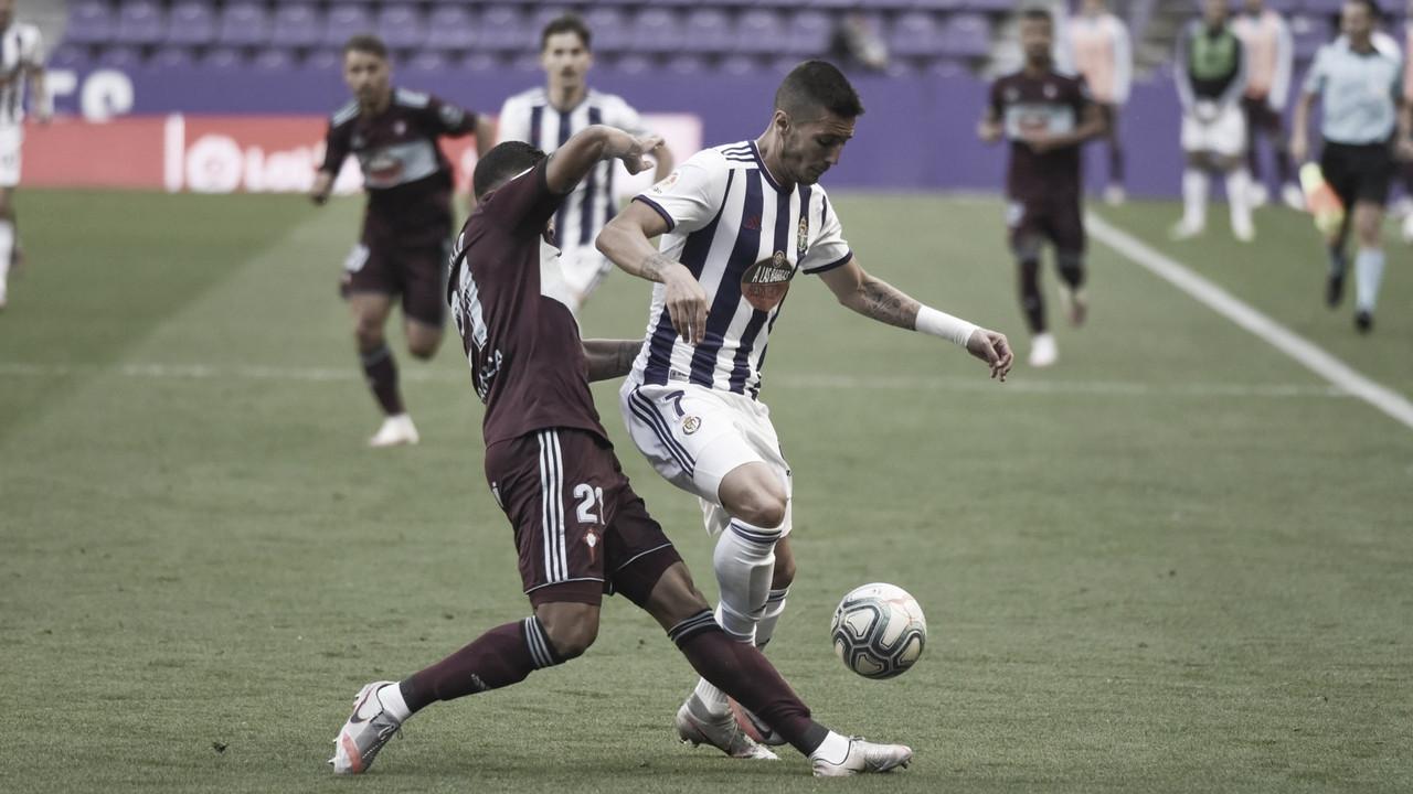 Real Valladolid 0-0 Celta de Vigo: Masip consigue un punto más para la salvación
