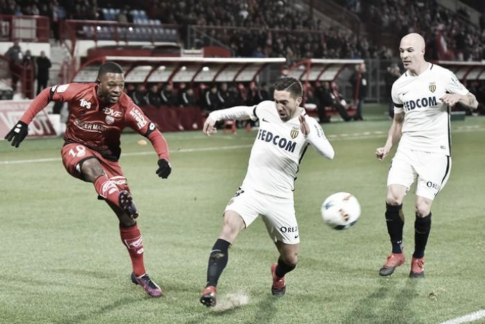 Monaco joga abaixo do esperado, empata com Dijon e vê liderança ameaçada