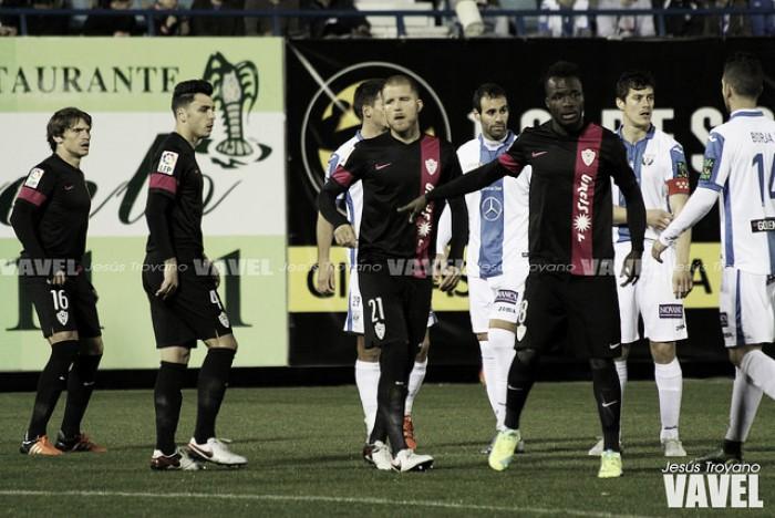 El Almería no logra asaltar el feudo de Butarque