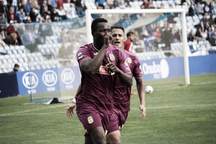 Un Moussa muy acertado le da los tres puntos al Cartagena