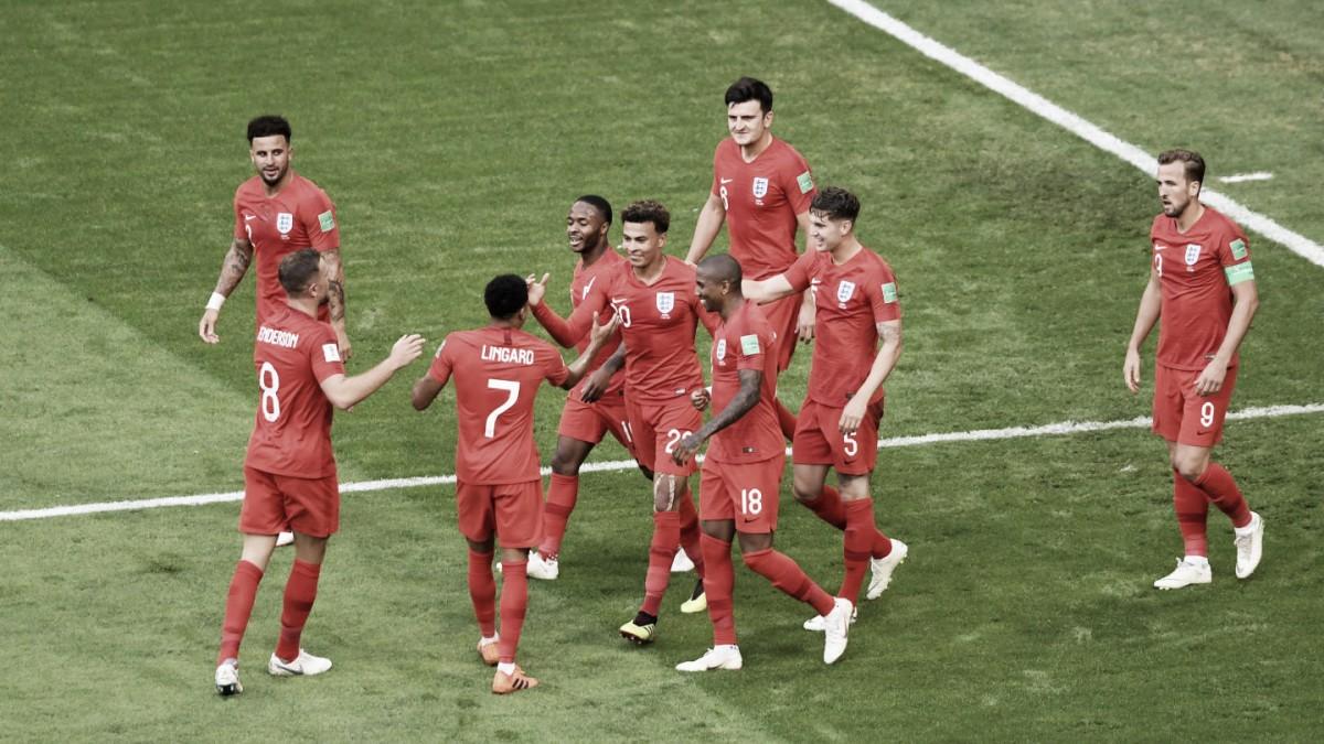 Inglaterra tira el muro de los cuartos