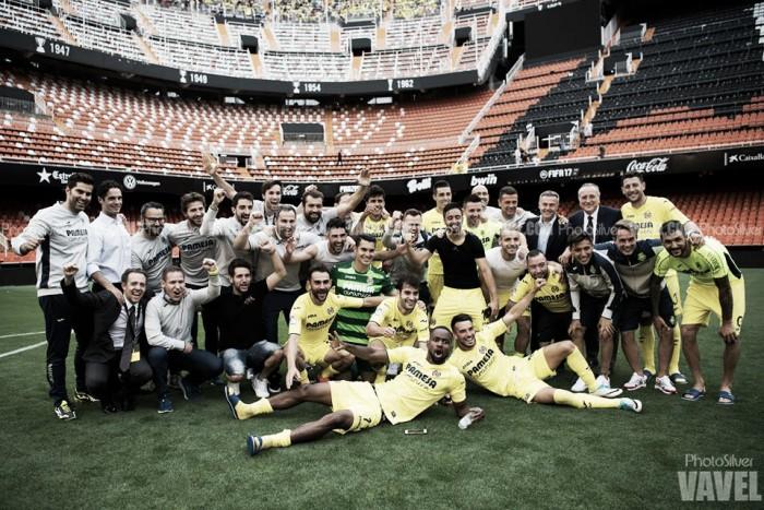 El Villarreal vuelve a coger el billete europeo en Mestalla