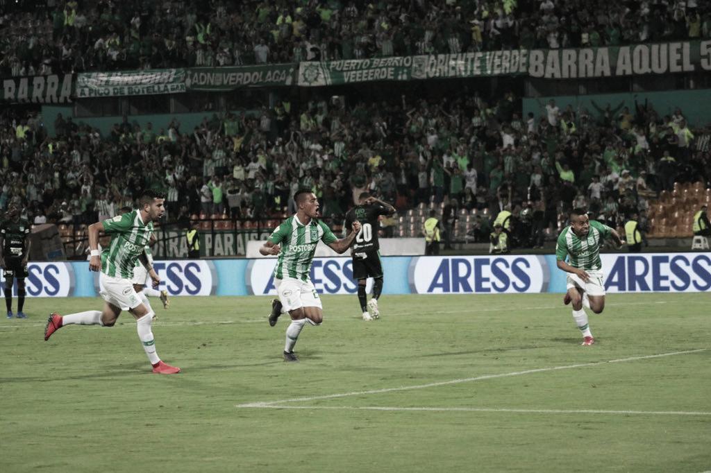 Atlético Nacional y Deportivo Cali dividieron honores en un partido intenso