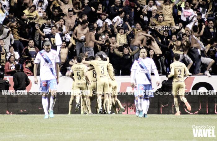 Con goleada ante Puebla, Pumas consigue su pase a Liguilla