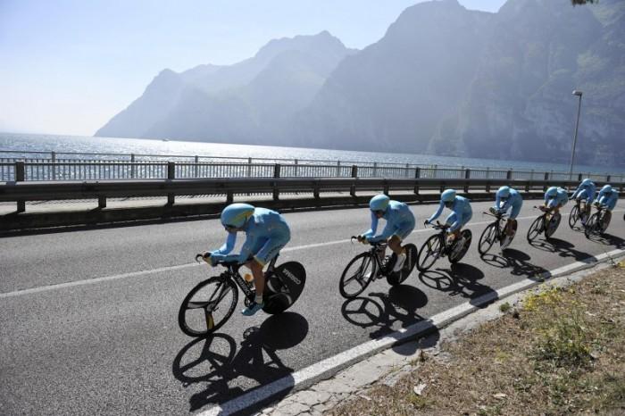 Giro del Trentino - Melinda 2016, 1° tappa: la cronosquadre apre la corsa