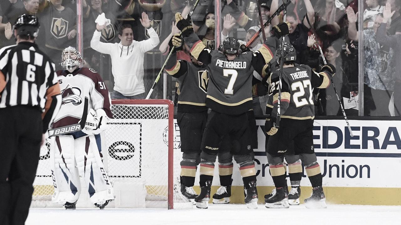 Vegas liquida al Avalanche en 6 partidos para pasar a semifinales