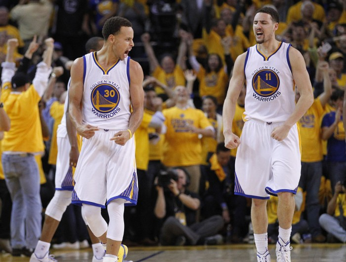 Splash Brothers Of Golden State Warriors Rout Portland Trail Blazers In Three-PointRecord Setting Night