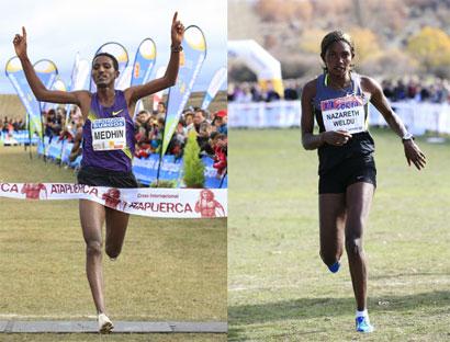 Los atletas eritreos dominan en el XXXI Cross Internacional de la Constitución