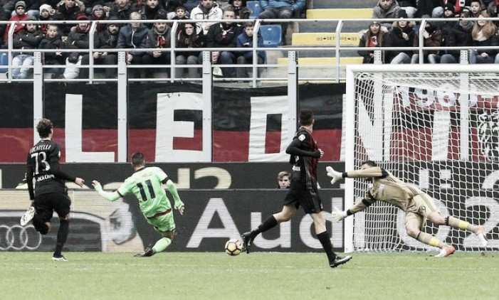 """Milan-Crotone, l'amarezza di Nicola: """"Ci è mancato solo qualche dettaglio"""""""