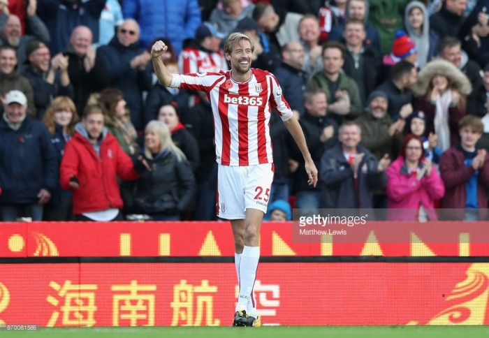 Stoke City chairman confident over Peter Crouch contract