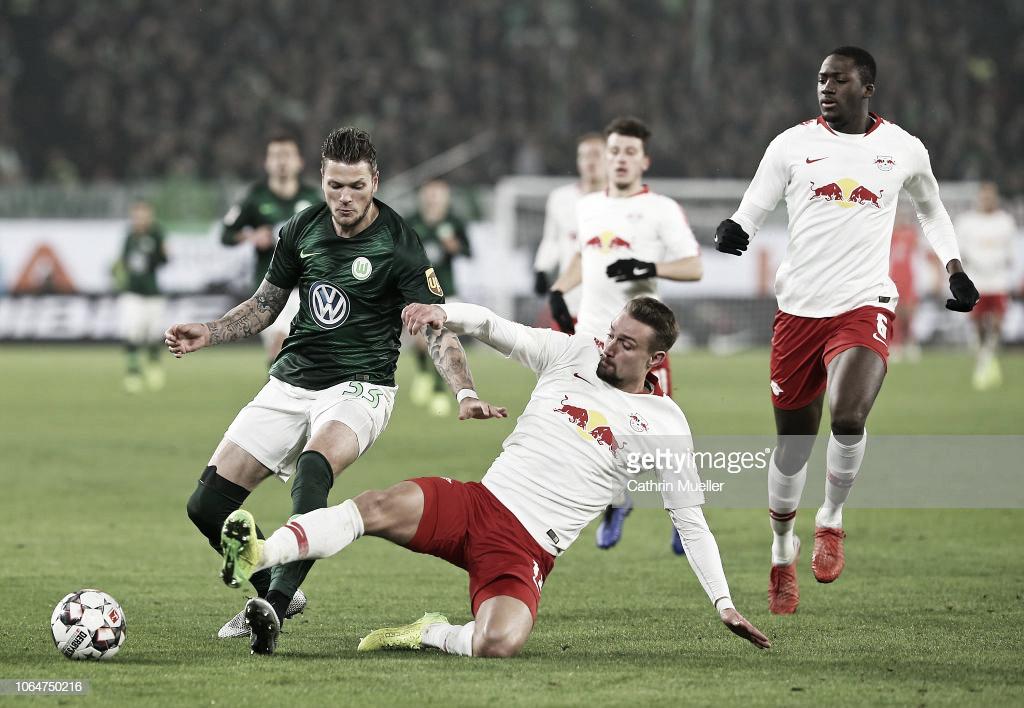 Segunda victoria en casa del Wolfsburgo que le quita el invicto al RB Leipzig