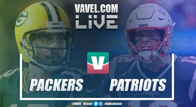 Resumen y touchdowns del Green Bay Packers 17-31 New England Patriots en NFL 2018