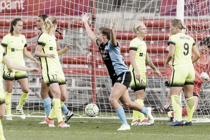 Chicago Red Stars and Seattle Reign end in a 2-2 draw