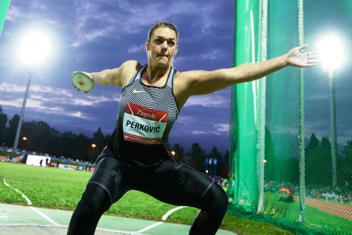 Atletica, Zagabria: splende la Spanovic, la Perkovic domina il disco, 100 a Powell