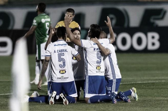 No sufoco, Cruzeiro vence Guarani em jogo movimentado pela Série B