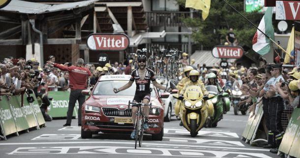 Tour de France, Geschke trionfa a Pra Loup. Van Garderen si ritira, Contador cade in discesa. Froome resiste a Quintana