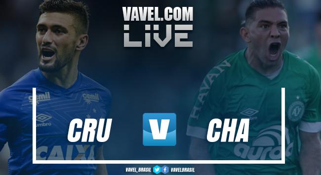 Resultado e gols de Cruzeiro x Chapecoense (3-0)