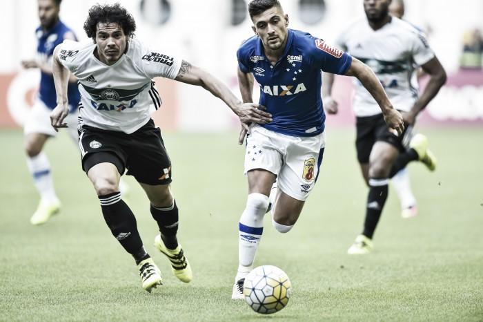 Cruzeiro e Coritiba iniciam returno do Brasileirão com empate eletrizante no Independência