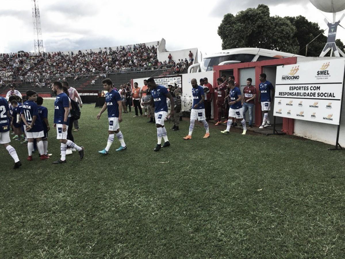 Em jogo morno, Cruzeiro empata com Patrocinense e reencontrará equipe nas quartas do Mineiro