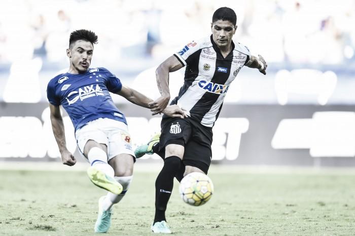 Em partida eletrizante, Cruzeiro fica no empate com Santos, que se afasta do título