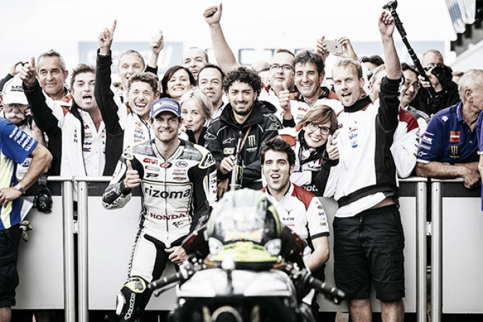 Crutchlow proud of result in front of home crowd at British GP