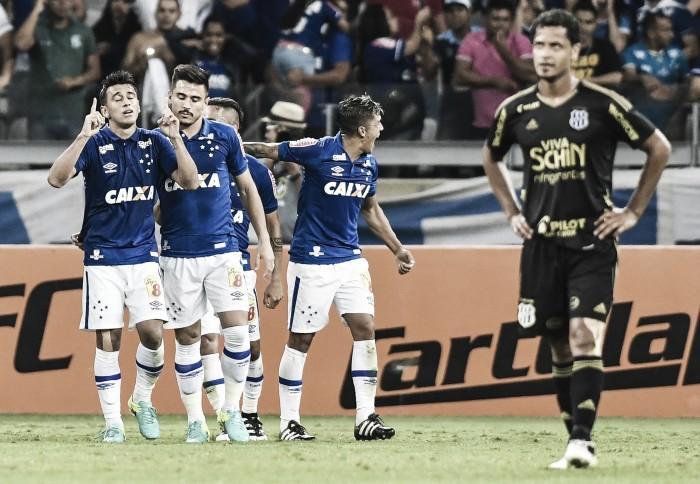 Cruzeiro vence Ponte Preta com tranquilidade e engata segunda vitória seguida no Brasileirão