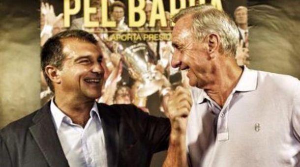 Cruyff también se alinea con Laporta