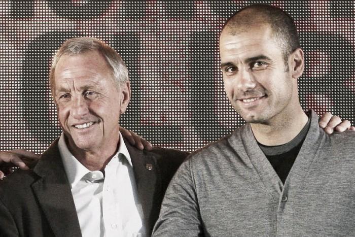 """Guardiola: """"Quero que o City jogue como o Barcelona de Cruyff"""""""