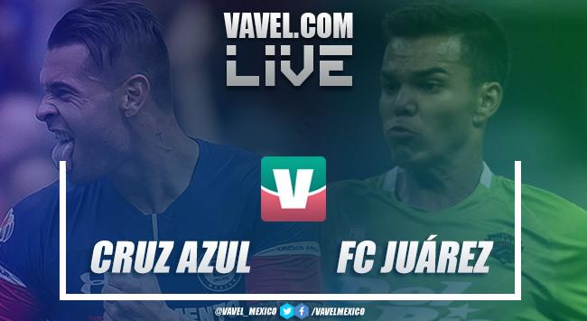 Resultado y goles del Cruz Azul 2-0 FC Juárez en Copa MX 2018