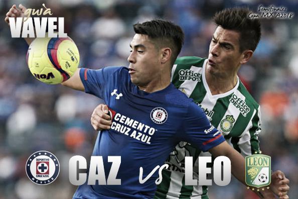 Cruz Azul vs León: cómo y donde ver semifinales Copa MX, canal y horario TV