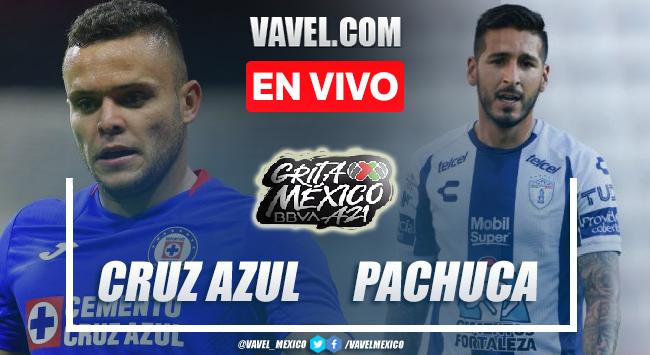 Goles y resumen del Cruz Azul 1-1 Pachuca en Liga MX 2021