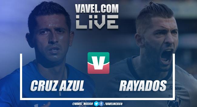 Resultado y goles del Cruz Azul 2-1 Rayados en Liga MX 2018