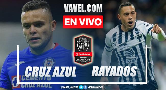 Goles y resumen del Cruz Azul 1-4 Monterrey en Semifinal de la Liga de Campeones CONCACAF 2021