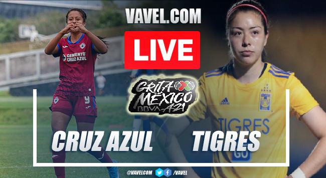 Goals and Highlights: Cruz Azul femenil 0-3 Tigres femenil in Liga MX Femenil