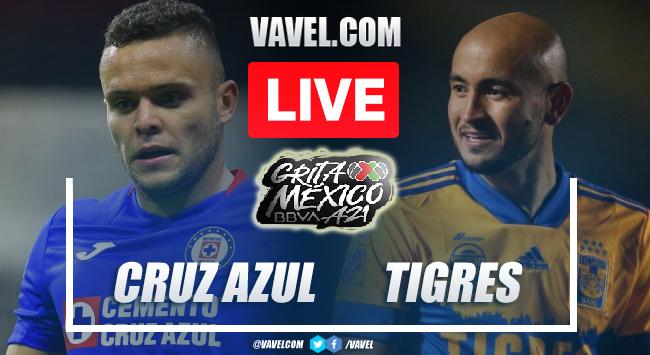 Goals and Highlights: Cruz Azul 1-1 Tigres in Liga MX 2021
