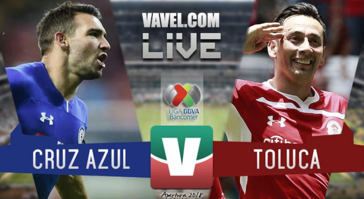 Resumen Cruz Azul 1-0 Toluca en Liga MX 2018