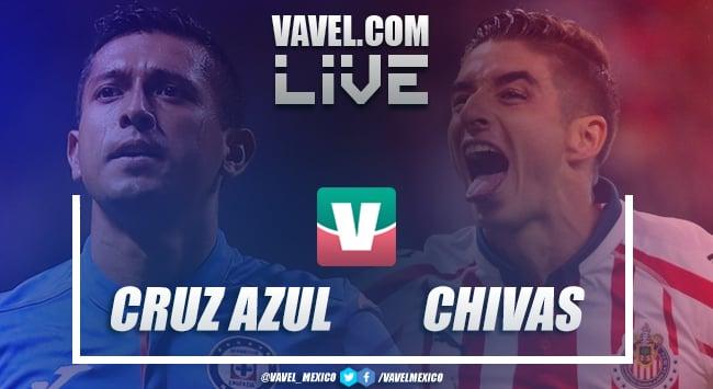 Resumen y goles Cruz Azul 0-1 Chivas en Liga MX 2019
